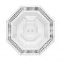 VESTA 290 x 290 cm mit Überlaufrinne_8238