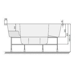 VESTA 230 x 230 cm mit Skimmer-Filter_8389