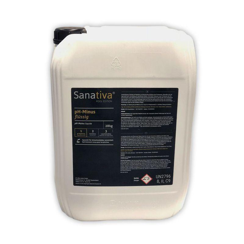 Sanativa SPA Edition pH-Minus flüssig 25kg_8685