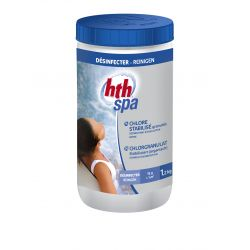 hth Spa Chlorgranulat stabilisiert 1kg_9343