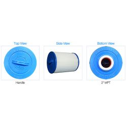 Pleatco Filter PAS40-F2M-M Antimicrobial_9454