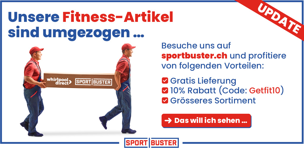 Sportbuster - Sport- & Fitnessartikel zu konkurrenzlos günstigen Preisen!